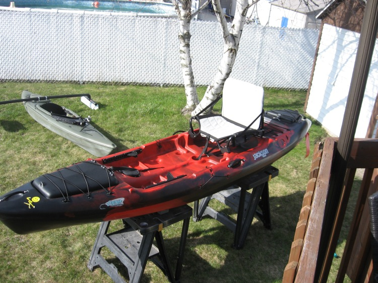 Modification du Coosa Jackson Kayak (1)